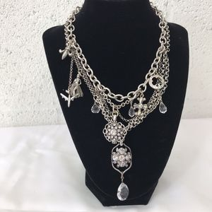 Lucky Brand Multilayer With Multiple Charms, NWT